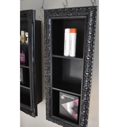 Beauty Product Display - Ornate Black Gloss Bella Furniture Ireland