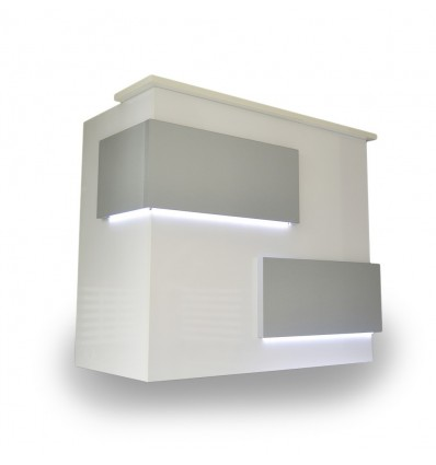 Salon Reception Desk - R1 Standard Bella Furniture Ireland