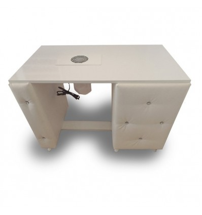 Custom bespoke Nail Desk Medium - Diamond Collection bella furniture, beauty salon furniture Ireland,