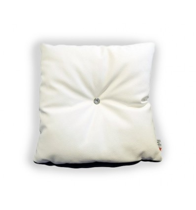 Bella White Pillow