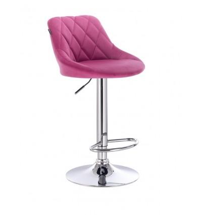 High Chair - Pink Velour BFHC1054 Bella Furniture Ireland