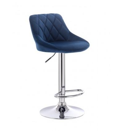 High Chair - Blue Velour BFHC1054 Bella Furniture Ireland