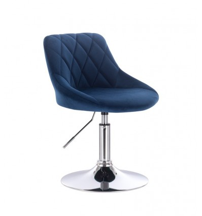 High Chair - Blue Velour BFHC1053 Bella Furniture Ireland