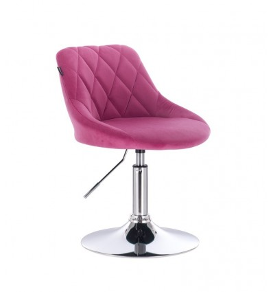 Styling Chair - Pink Velour BFHC1053 Bella Furniture Ireland