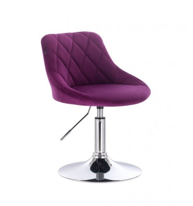 Styling Chair - Fuchsia Velour BFHC1053