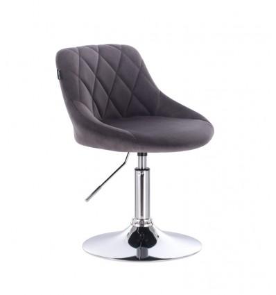 Styling Chair - Grey Velour BFHC1053 Bella Furniture Ireland