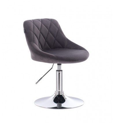 Styling Chair - Grey Velour BFHC1053 Bella Furniture Ireland