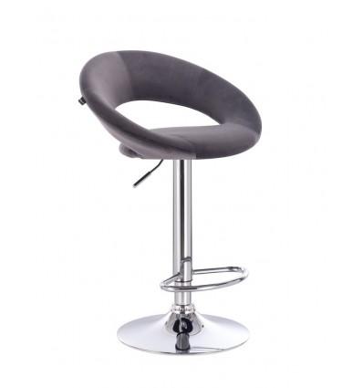 High Chair - Grey Velour BFHR104 Bella Furniture Ireland