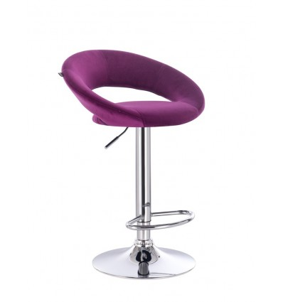 High Chair - Fuchsia Velour BFHR104 Bella Furniture Ireland