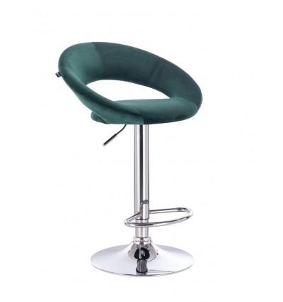 High Chair - Green Velour BFHR104 Bella Furniture Ireland