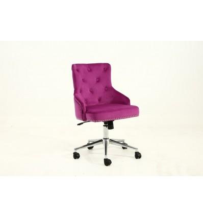 Hroove Chair On Wheels - Studded Fuchsia BFHR654K