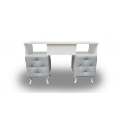 GERRANO Nail Desk - Bella Diamond Collection Bella Furniture Ireland Dublin
