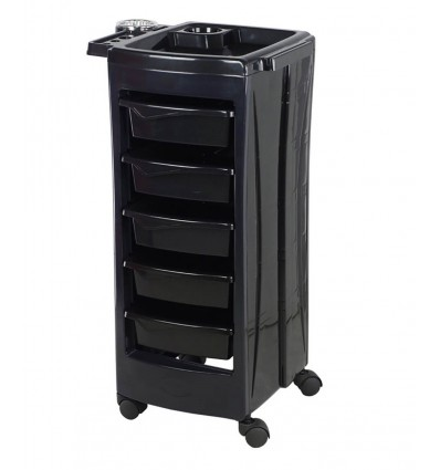 Salon Trolley - Capri Black Bella Furniture Ireland