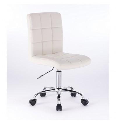 Chair On Wheels - White BFHC1015K Bella Furniture Ireland
