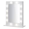 Hollywood Mirror White. Professional makeup mirror with bulbs. Makeup mirrors Ireland