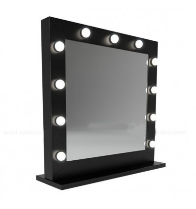 Hollywood Mirror White - 80x80