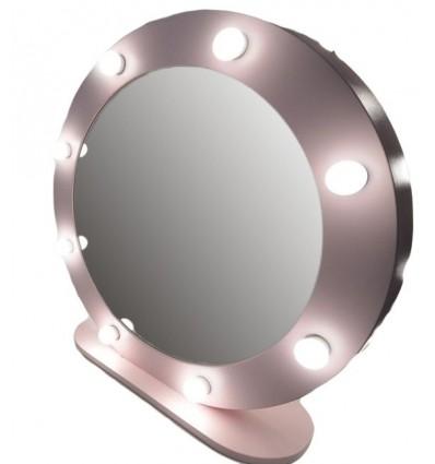 Hollywood Round Mirror - 80cm