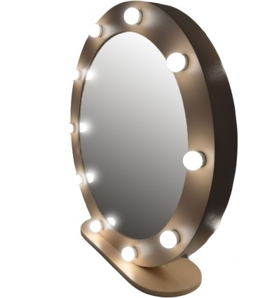 Hollywood Round Mirror - 90cm