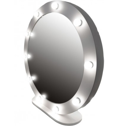 Hollywood Round Mirror - 100cm