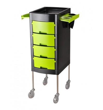 Salon Trolley - Modern Lime Green