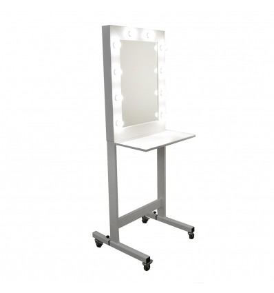 Mobile Makeup Stand Ireland. Stand for makeup salons Ireland.
