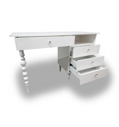 VITTORIA Nail Desk Medium - Bella Diamond Collection