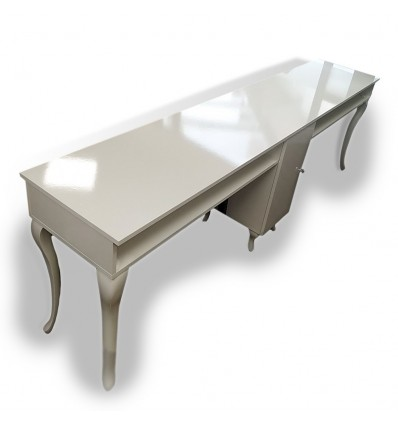 QUATTRO Four Station Nail Desk – Bella Diamond Collection