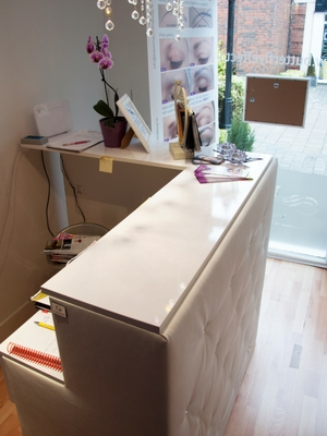 bellafurniture bespoke reception desk