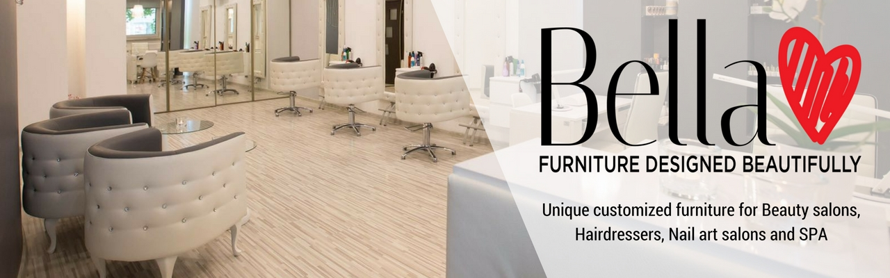 bella furniture unique customized furniture for beauty salon and spa in ireland