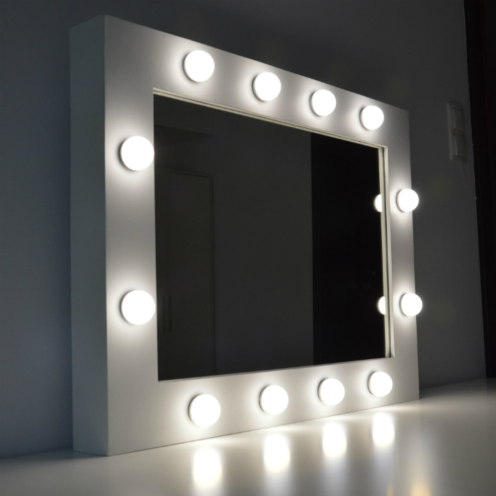 makeup mirror hollywood bella furniture